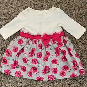 Janie and Jack floral dress 12-18 months